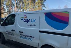 Leaders pledges to raise £100,000 for Age UK with your help